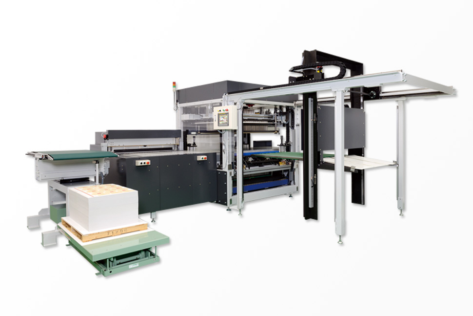 Master Blanker CBL / Automatic Offline Blanking Stripping Machine